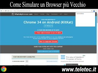 Come Simulare un Browser Differente con Google Chrome - User-Agent Switcher
