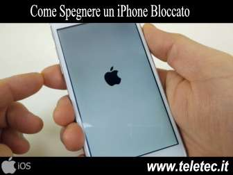 Come Spegnere un iPhone Bloccato