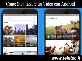 Come Stabilizzare un Video con Android