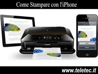 Come Stampare con l'iPhone