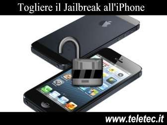 Come Togliere il Jailbreak all'iPhone