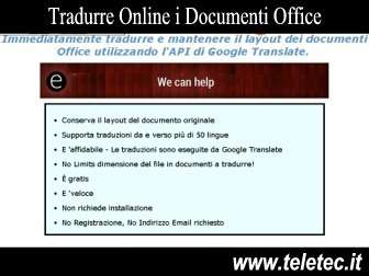 Come Tradurre Online i Documenti Office