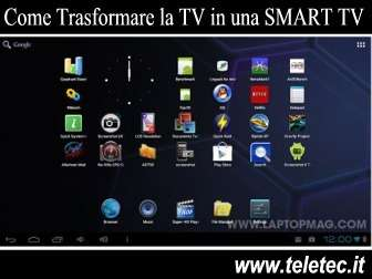 Come Trasformare la TV in una SMART TV Windows o Android