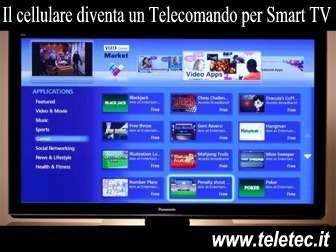 Come Trasformare lo Smartphone Android in un Telecomando per Smart TV