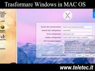 Come Trasformare Windows in Mac OS