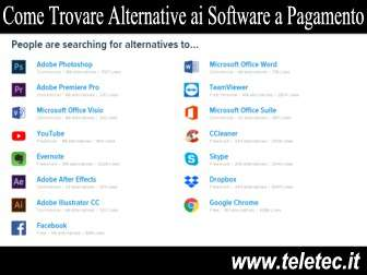 Come Trovare Alternative Gratuite ai Software a Pagamento