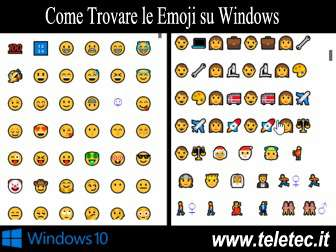 Come Trovare le Emoji su Windows 10