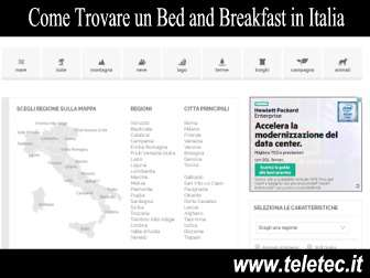 Come Trovare un Bed and Breakfast in Italia Adatto alle Proprie Esigenze