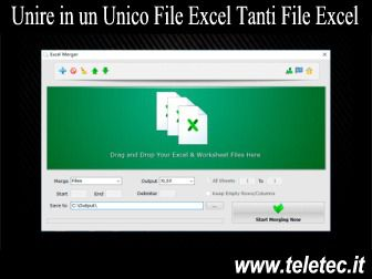Come Unire in un Unico File Excel Tanti File Excel - Excel Merger