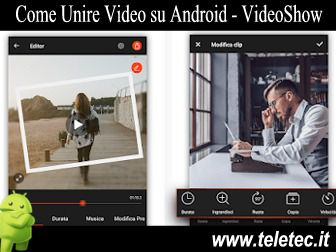 Come Unire Video su Android - VideoShow