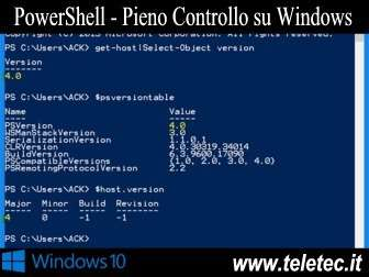 Come Utilizzare Windows PowerShell su Windows