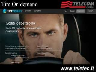 Come Vedere la TIMvision - La Tv on demand di Tim