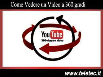 Come Vedere un Video a 360 gradi