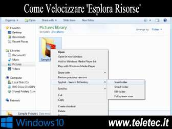 Come velocizzare esplora risorse di windows 10