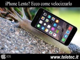 Come Velocizzare l'iPhone