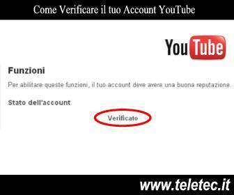 Come Verificare il tuo Account YouTube