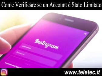 Come Verificare se un Account Instagram è Stato Limitato