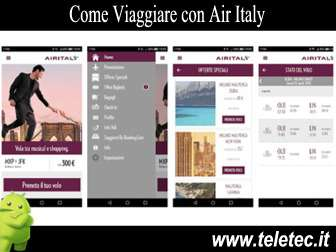 Come Viaggiare con Air Italy e Android