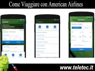 Come Viaggiare con American Airlines e Android