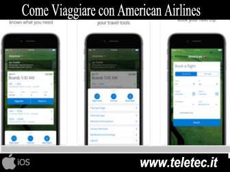 Come Viaggiare con American Airlines e iOS