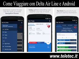 Come Viaggiare con Delta Air Line e Android