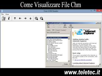 Come Visualizzare Documenti CHM su Windows, Linux e Mac