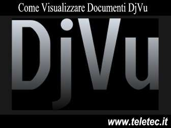 Come Visualizzare Documenti DjVu - Free Djvu Reader