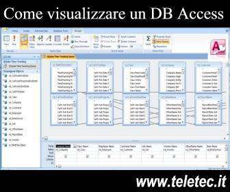 Come Visualizzare i Dati di un Database Access senza avere Access