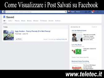 Come Visualizzare i Post Salvati su Facebook