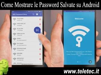 Come Visualizzare le Password del WiFi Memorizzate su Android