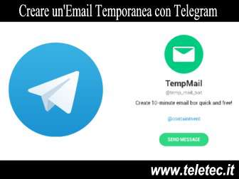 Creare un'Email Temporanea con Telegram