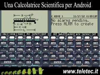 calcolatrice scientifica per android