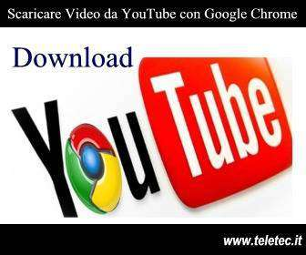 Come scaricare video da YouTube con Google Chrome