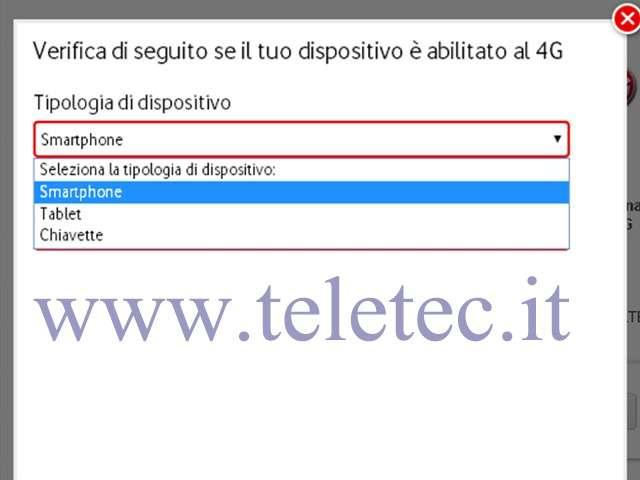 Come Verificare se un dispositivo Mobile è compatibile con il 4G