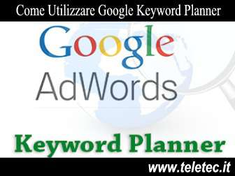 Video Corso per Google Keyword Planner